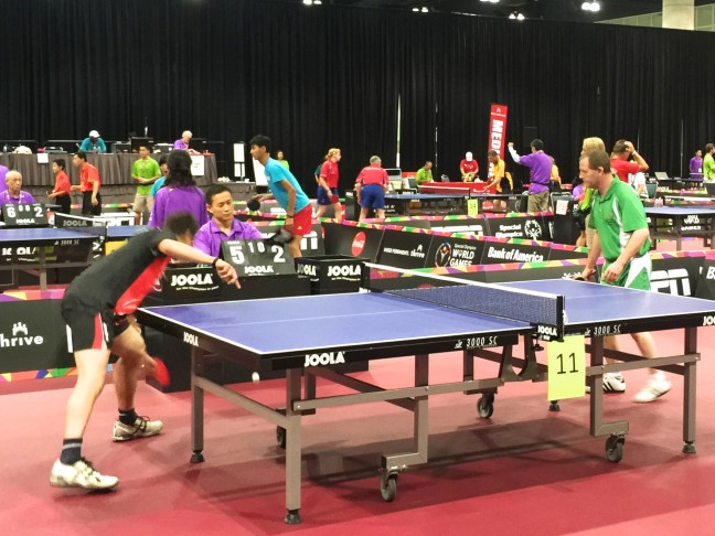 The Table Tennis Finals