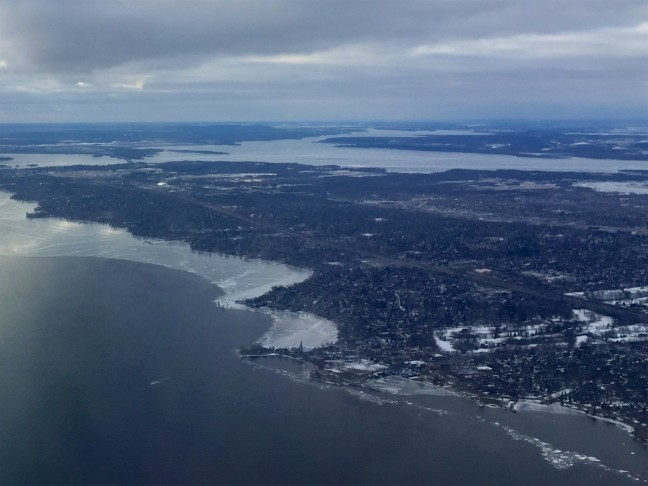 Pointe Claire From Above