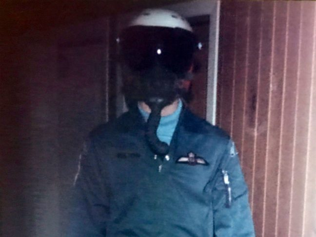 That's Me In My Flight Suit 35 Years Ago