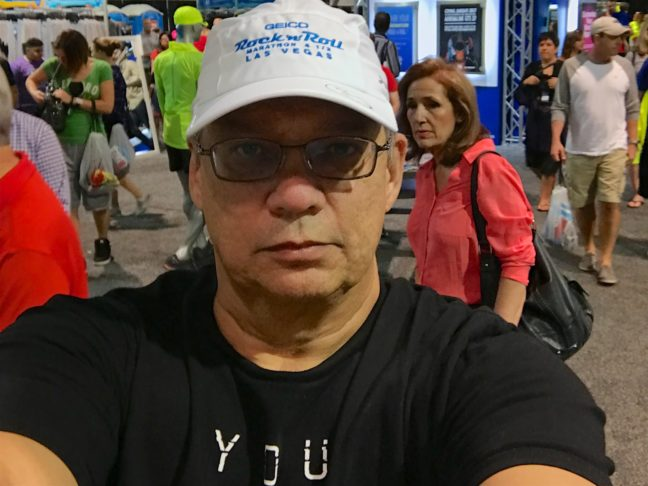 A Rare Selfie Of Me At The Rock 'n Roll Las Vegas Health Expo