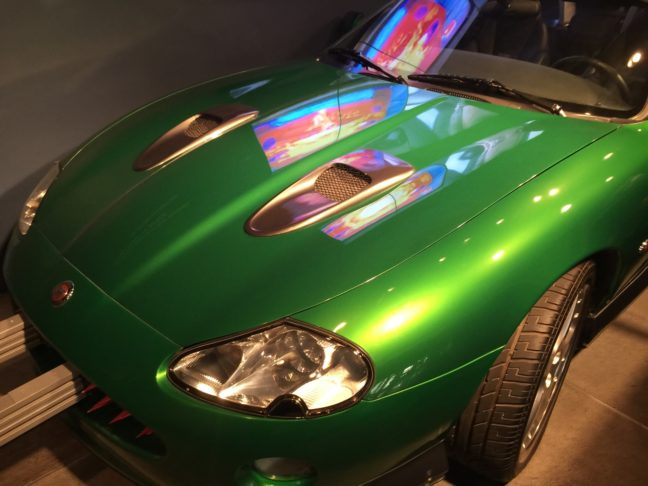 My Dream Car From James Bond - A Green Jag With All The Goodies