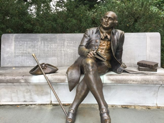 George Mason Memorial Next To The Tidal Basin