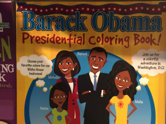 A Very Popular Coloring Book Found In Washington DC