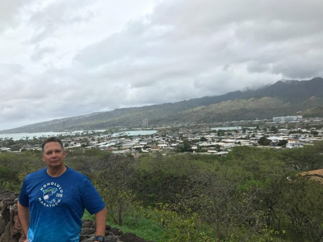 Enjoying The Views Of Hawaii Kai Across From Hanauma Bay On Oahu