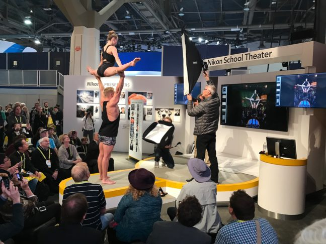 The Nikon Photo Session At CES 2017