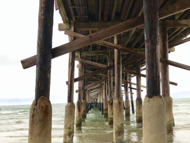 Under The Newport Beach Pier