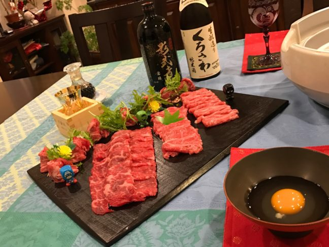 Our Traditional Valentine's Sukiyaki Meal