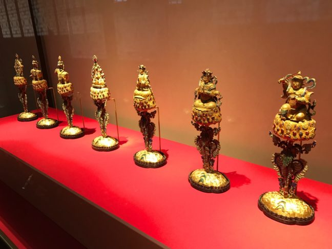 The Seven Treasures For Buddha At The Imperial Palace