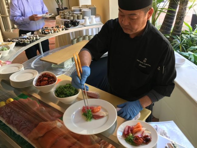 Serving Up Excellent Sushi At The Ritz