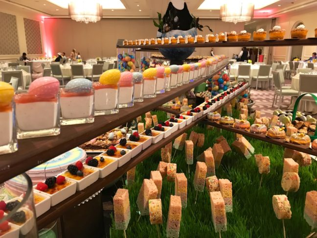 The Easter Brunch Dessert Selection