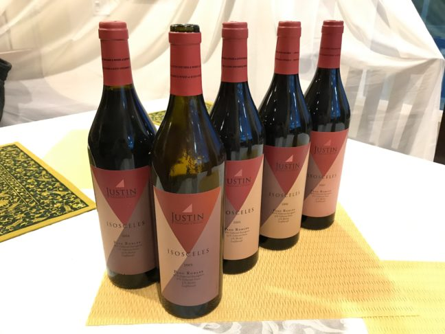 An Excellent Set Of Justin Wines