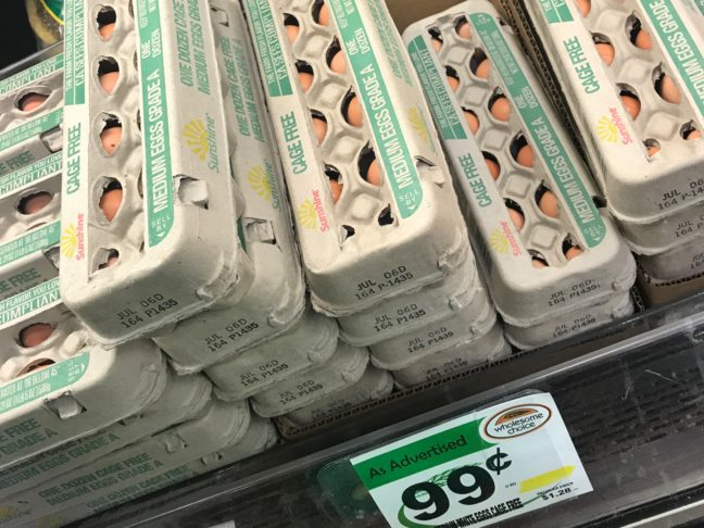 Organic Eggs At Wholesome Choice
