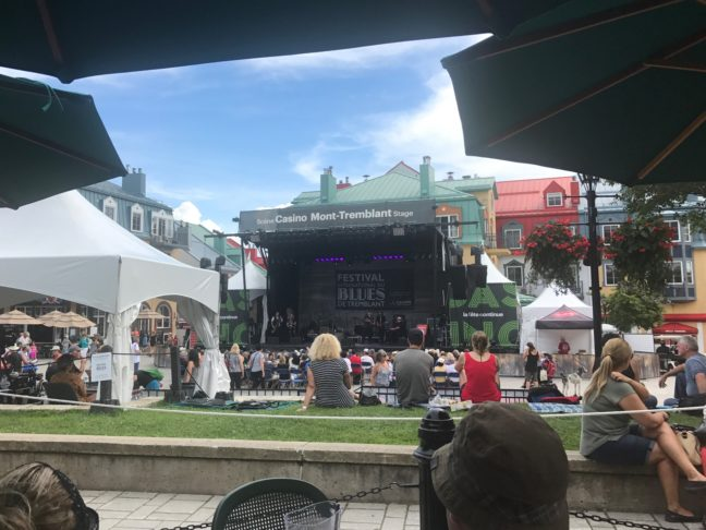 Blue's Fest At Tremblant Village