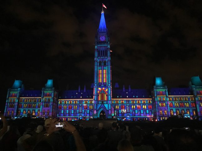 A Parliament Light Show