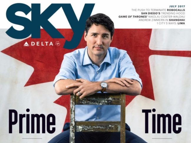 A Cool Canadian Prime Minister